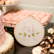 Embroidery Wedding Decor