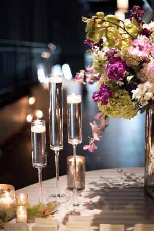 Floating Candle Wedding Decor