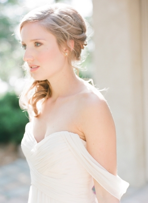 Grecian Inspired Bridesmaids Dress