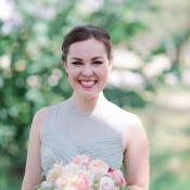 Romantic Mint Peach Wedding Elizabeth Anne Designs