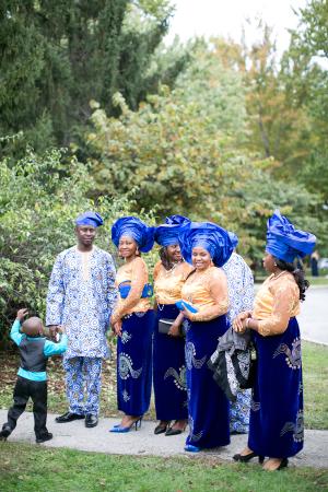 Nigerian Wedding Attire