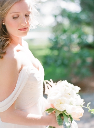 Pale Ivory Bridesmaids Gown
