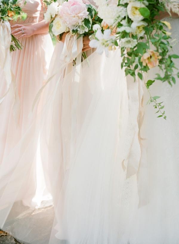 Pastel Bridesmaids Dresses