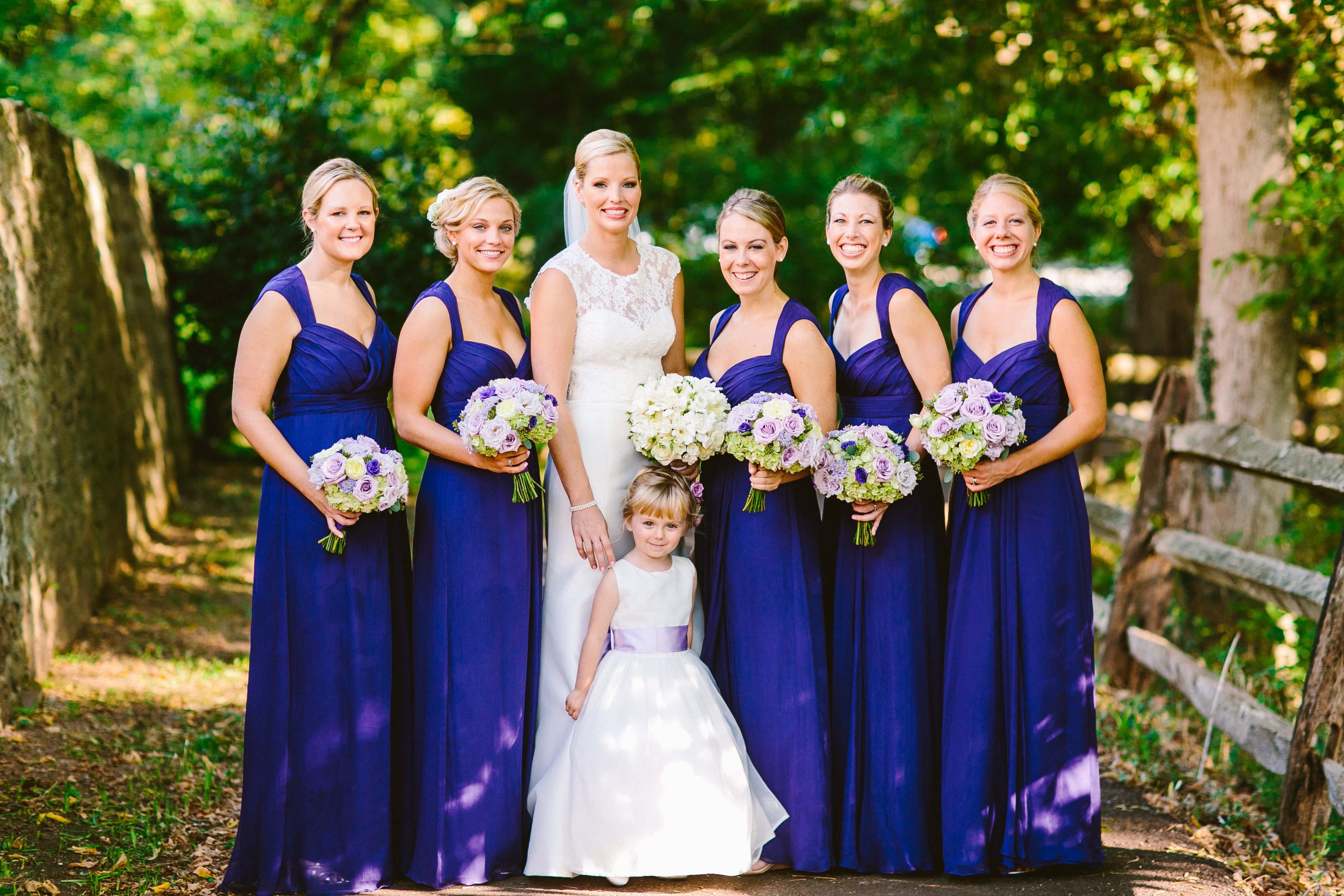 Royal Blue Bridesmaids Dresses Elizabeth Anne Designs