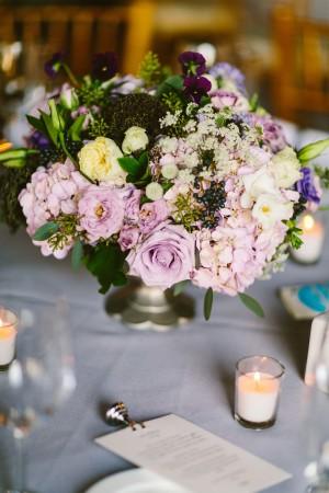 Wedding Flowers in Pale Purple