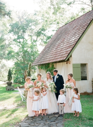 Wedding Party in Ivory