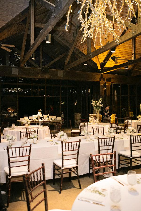 White Winter Wedding Reception Elizabeth Anne Designs The Wedding