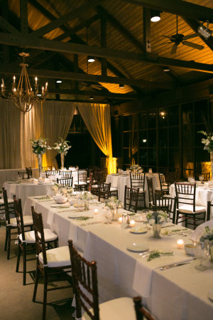 White and Brown Winter Wedding