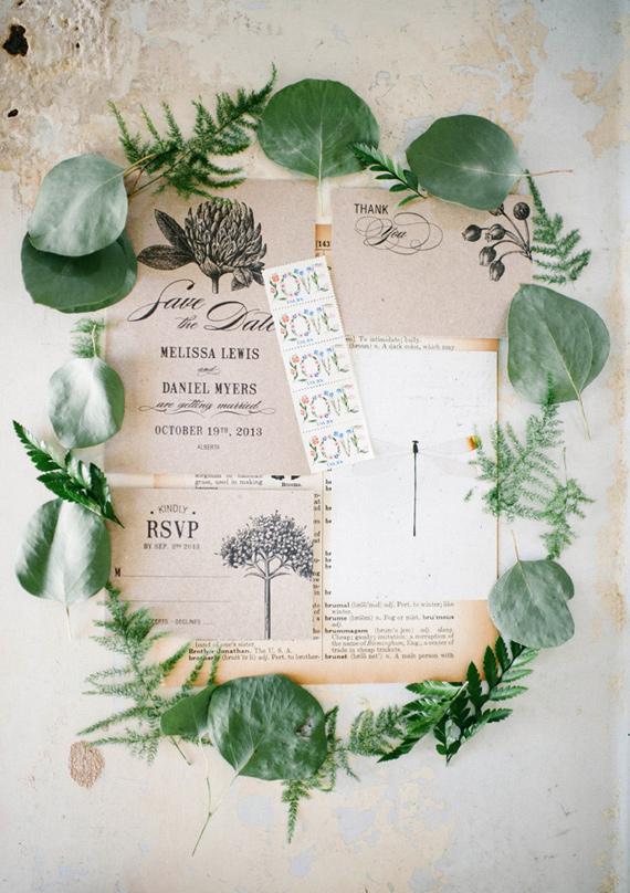 3 Eggs Design Botanic Garden Wedding Invitations Printable Template