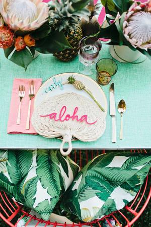 Aloha Hawaiian Theme Bachelorette Party