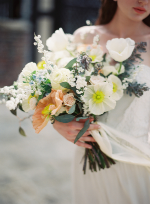 Bouquet in Yellow and Apricot