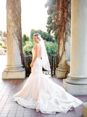 Bride in Ines Di Santo 3