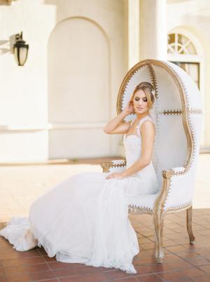 Bride in Ines Di Santo 4