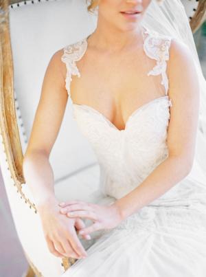 Bride in Ines Di Santo 6
