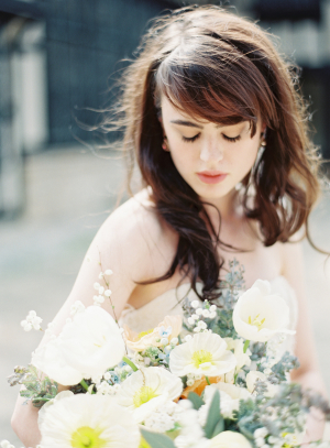 Bride with Bangs 2