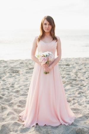 Bridesmaid on the Beach