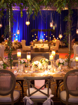 Elegant Farmhouse Chairs at Wedding