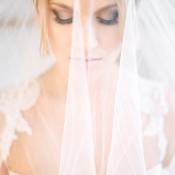 Romantic Bridal Portrait with Veil