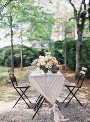 Rustic Elegant Pastel Wedding Table