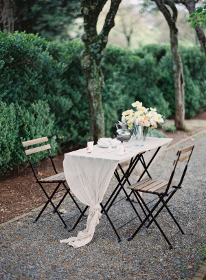 Simple Sweetheart Table