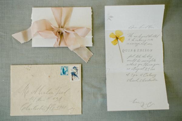 Vintage Inspired Bridal Stationery
