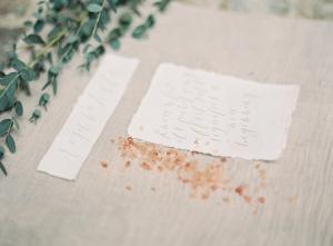 Wedding Decor Inspired by Salt