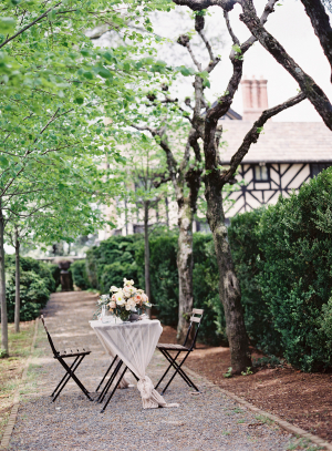 Wedding Inspiration at English Tudor Home