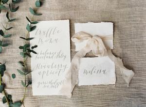 Wedding Stationery in Gray