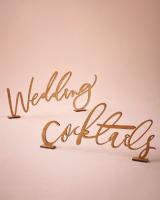 Woodcut Calligraphy Sign