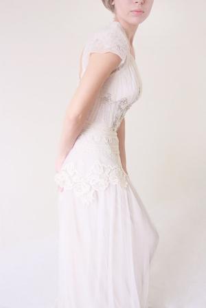 uplingerpoppy Far Away Tulle Lace Gown