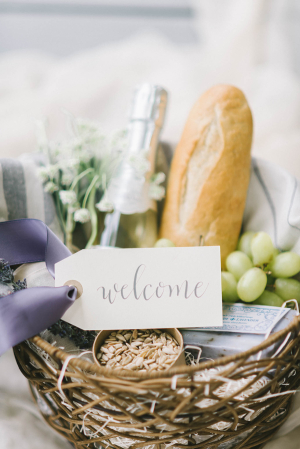 Artisan Wedding Welcome Basket