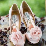 Badgley Mischka Pink Shoes
