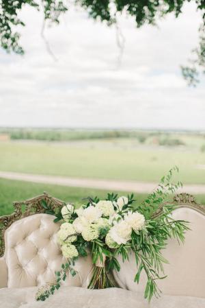Bouquet with Hydrangeas