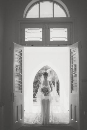 Bride Entering Chapel