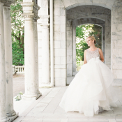 Bride in Hayley Paige