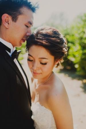 Bride in Soft Updo