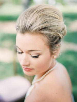 Bride with Sleek Updo