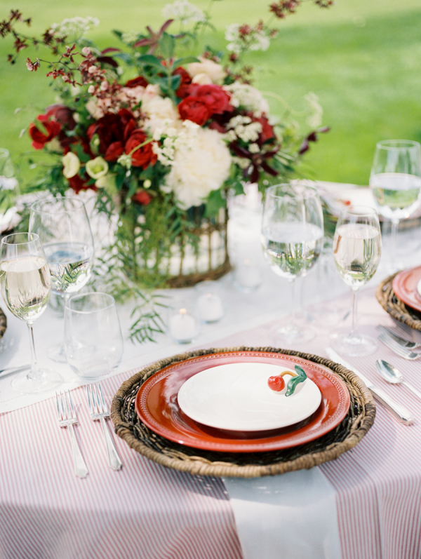 Cherry on Place Setting