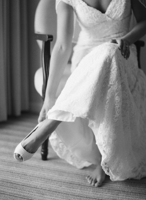 Davids Bridal Lace Gown