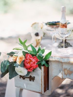 Fuchsia Peony Wedding Decorations