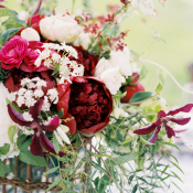 Garnet Wedding Flowers
