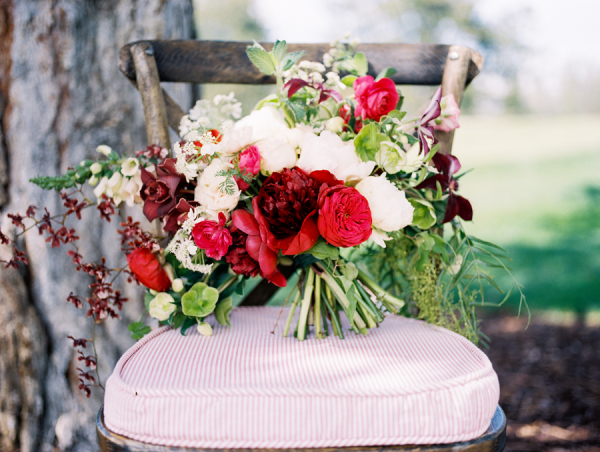 Garnet and Red Bouquet