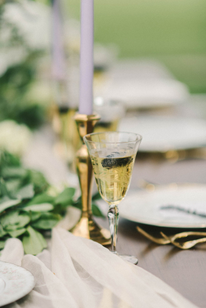 Gold Taper Candle Holders