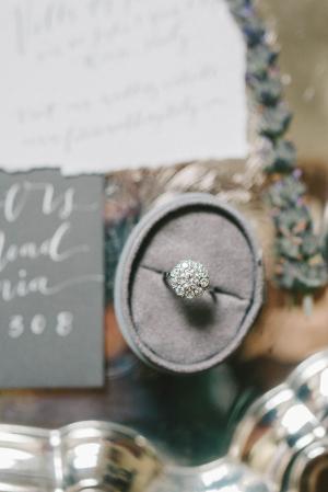 Gray Ring Box