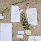 Gray Wedding Stationery