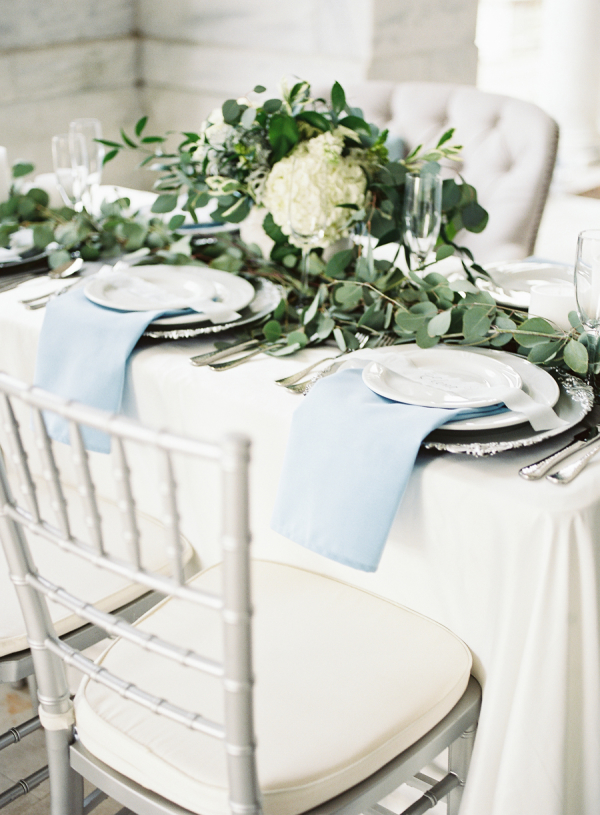 Green and Blue Wedding Colors