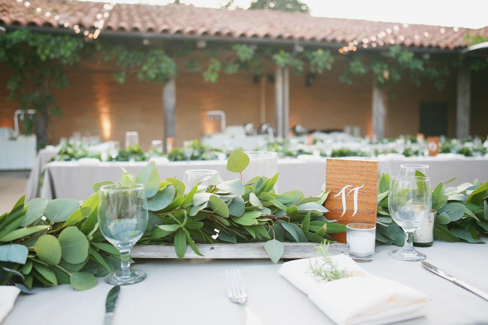 Greenery centerpiece elizabeth anne designs the wedding