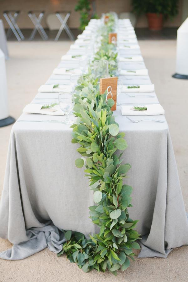 Greenery Garland Centerpiece Elizabeth Anne Designs The