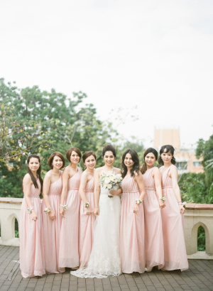 Halter Bridesmaids Dresses