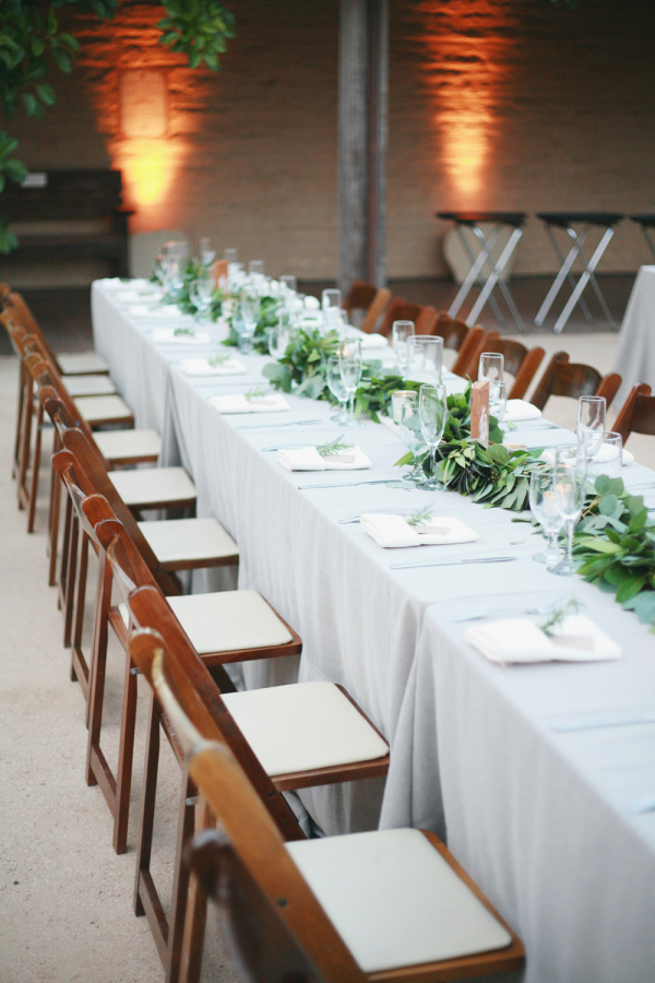 Long Tables For Wedding Reception Elizabeth Anne Designs The